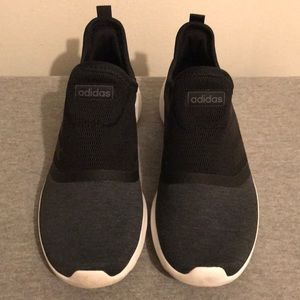 Black and Gray Adidas Ortholite Float